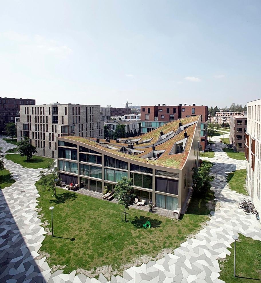 Немного о малоэтажной застройке Амстердама