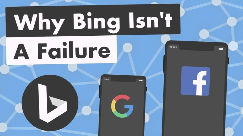 Why Bing Isnt a Failure ( the Future of the Internet)