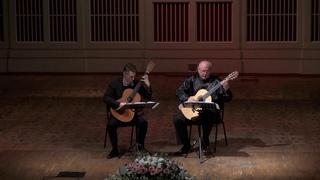 B.Calvarusso - P.Polujin. Sicilian tarantella/Guitar duo Pavel Ivannikov-Eugene Sapsalyov