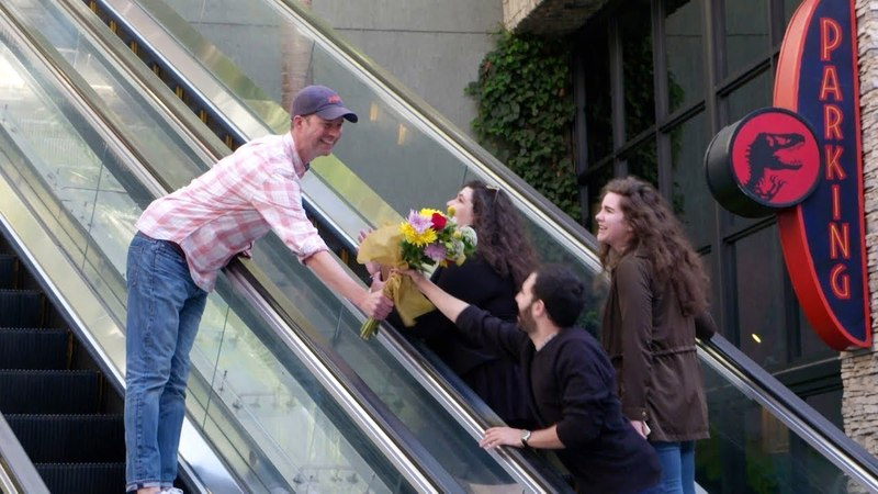 Andy Jason's Awkward Encounters While Handing Out Flowers