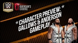 Character Preview Gallows &amp Anderson Gameplay WWE Champions