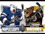 NHL 17-18 SC R1 G7. 25.04.18. TOR - BOS. Евроспорт.