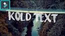 WONDERSHARE FILMORA | HOW TO MAKE SAM KOLDER TEXT INSTALL AND USE | TUTORIAL [HINDI] DEEP THABAL !