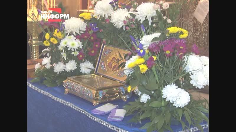 Пытьяхцы пришли поклониться православным святыням