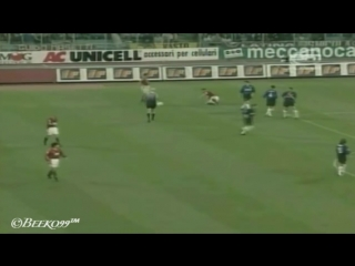 Ronaldo vs Totti ( Inter Milan vs Roma 98_99 )