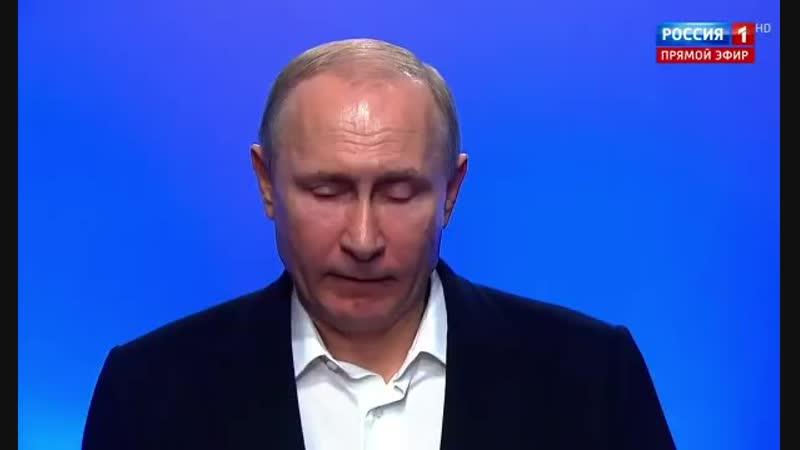 Путин поручил ввести санкции против Украины Для нас Украина и украинский народ братский народ Я всегда это говорил с Пу