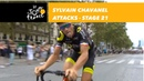 Sylvain Chavanel attacks Stage 21 Tour de France 2018
