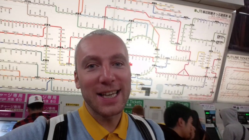 Как разобраться в токийском метро...