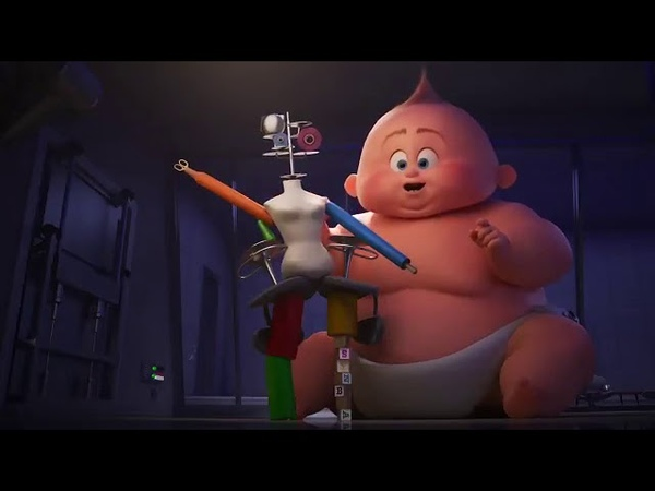 Disney Pixar Auntie Edna Clip