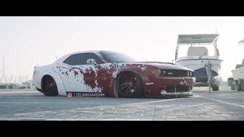 Hellcat Liberty Walk (Dubai UAE) Dodge Challenger