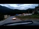Едем от каньона Псахо по тихоньку в сторону дома по извилистым дорогам