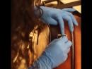 Отделка сумок и саквояжей ручной работы - покрытие патиной.