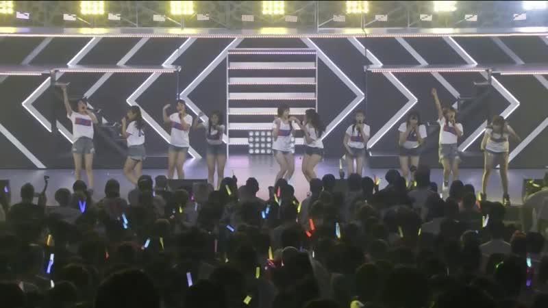 NMB48 Niji no Tsurikata @ 180730 NMB48 LIVE IN SUMMER 2018