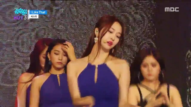 [PERF] 160709 SISTAR - l Like That Show Music core