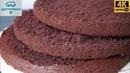 Самый Пышный Шоколадный Бисквит, который НЕ ОПАДАЕТ! ☆ Идеальный Бисквит для Торта Прага
