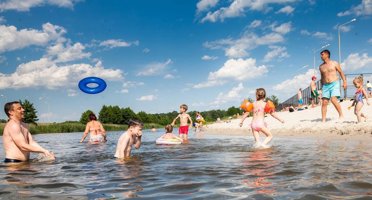 Фоторепортаж с Брестских пляжей (Набережная, Гребной канал, Красный двор) Лето 2018