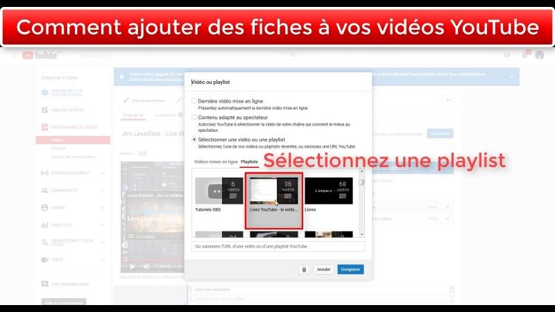 [TUTO] Ajouter des fiches sur vos vidéos YouTube