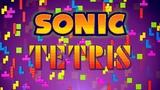 Sonic Tetris - Marathon Mode walktrough (Sega Mega DriveGenesis) 60fps