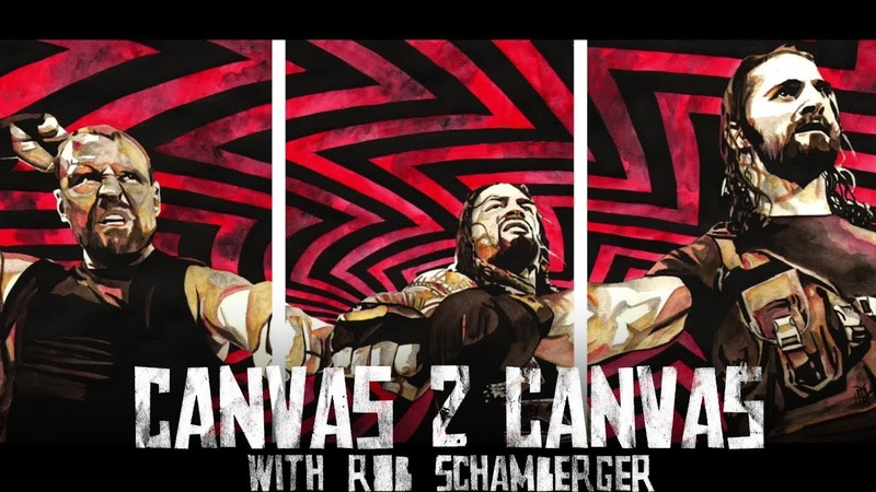 A reunited Shield takes over in living color!: WWE Canvas 2 Canvas