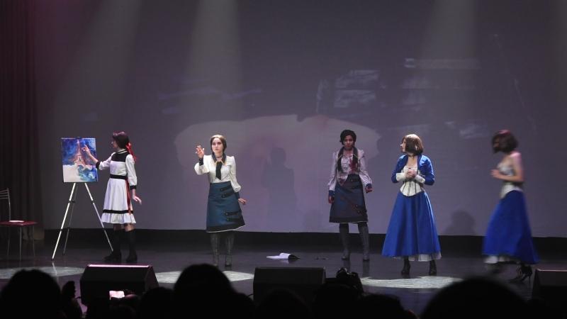 27 Каге Буншин но Дзюцу - BioShock Infinite - Elizabeth x6
