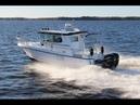 Морской катер Nord Star 28 OB Patrol с подвесными моторами Катер 2 каюты для путешествий, рыбалки