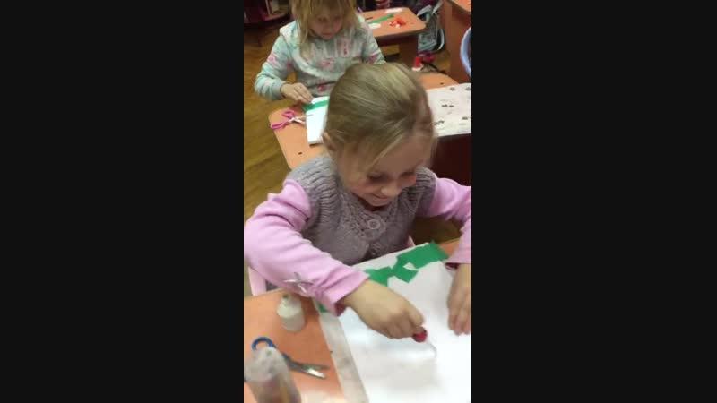 на уроке творчества новогоднее настроение Студия Веснушка симферополь