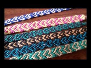 Comment faire un bracelet brsilien en forme de cur  tuto #3.