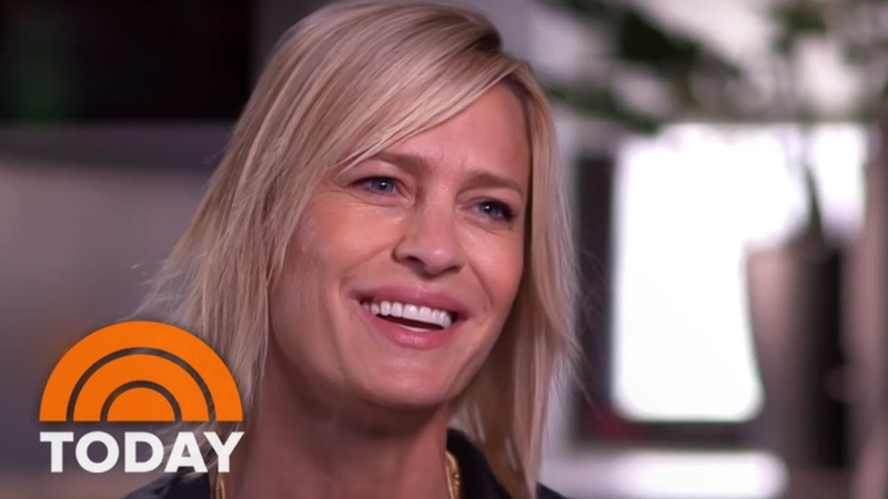 Robin Wright Talks About Kevin Spacey On TODAY 'I Didn't Know The Man' | TODAY