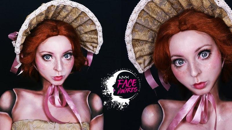 VINTAGE DOLL   Face Awards Poland 2018   Karolina Zientek