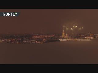 В Санкт-Петербурге завершился фестиваль света: смотрим, как это было