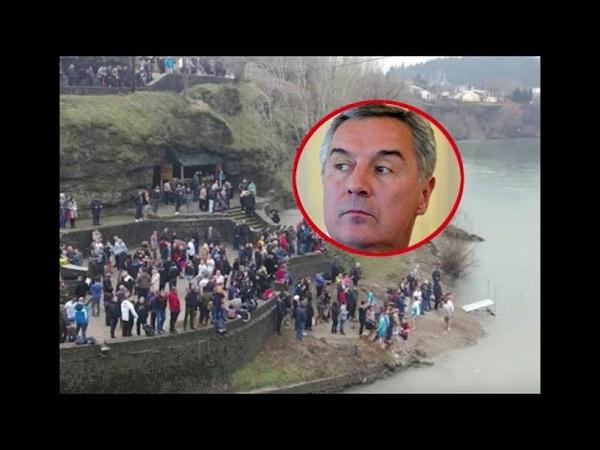 MILO ĆE PUĆI OD MUKE SRBI ZAPEVALI, ''Oj Kosovo Kosovo'' se ori Podgoricom! 1