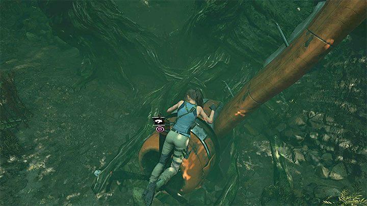 нож в Shadow of the Tomb Raider