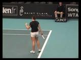 Simona Halep Q Match2_1 Paris Indoors 2009