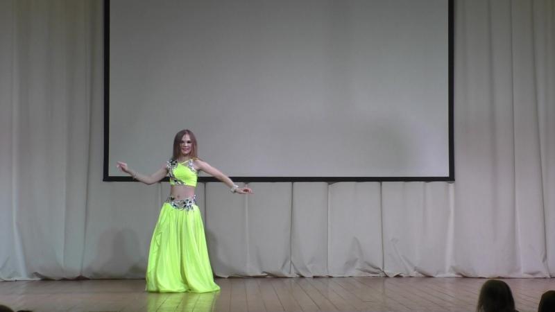 Al-Dgana Алина Трошкова классика, отчетный концерт 2018
