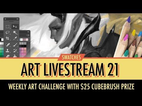 Swatches Art Livestream No. 21