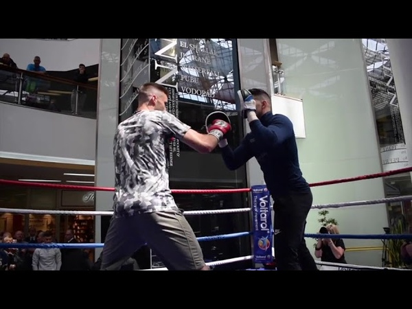 SOON TO BE WORLD CHAMPION? - JOSH TAYLOR SMASHES THE PADS AHEAD VIKTOR POSTOL CLASH
