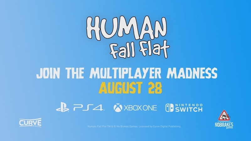Human Fall Flat brings 8 player multiplayer to consoles on August 28th
