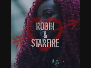 Robin and Starfire promo