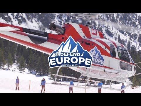 Identitäre Bewegung Aktionsvideo zur Mission Alpes