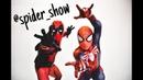 Человек паук на новом году! Шоу танцующих героев