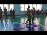Показательные выступления кадетов 3 школы по рукопашному бою