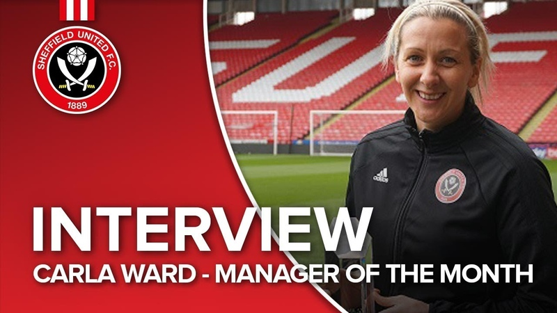 Carla Ward named Manager of the Month