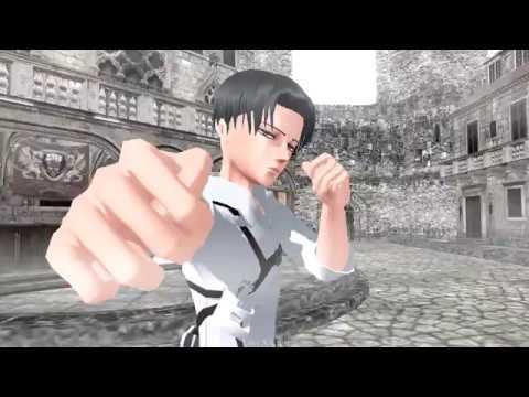 【進撃のMMD | SNK】Levi X Eren – Fight || Бой – [Riren and Ereri]