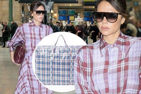В сети высмеяли новый образ Виктории Бекхэм и сравнили ее наряд с сумкой челноков