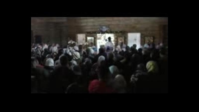 Пасхальное богослужение в Белобережской пустыни ( 144 X 176 ).3gp