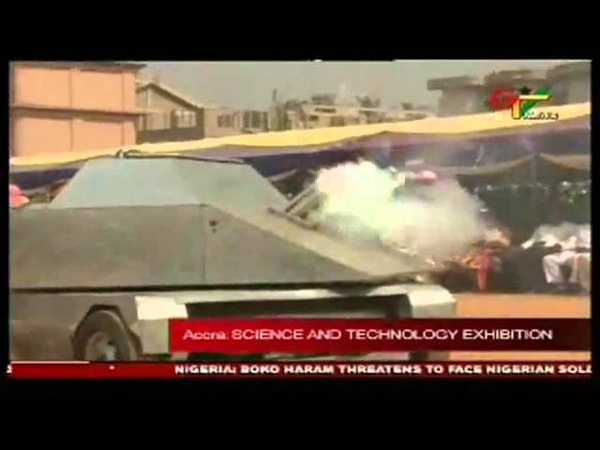 Ghana Television coverage of amazing technology of Apostle Dr. Kwadwo Safo Kantanka