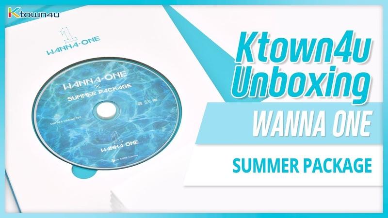 [Ktown4u Unboxing] WANNA ONE X SUMMER PACKAGE 워너원 써머패키지 언박싱