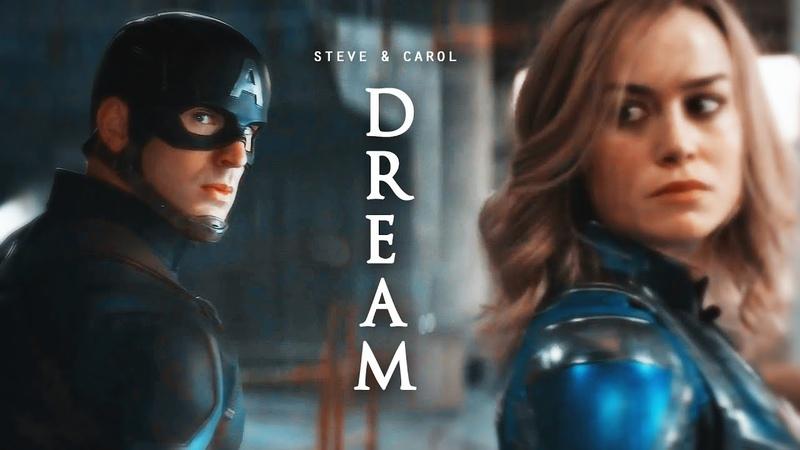 ❖ Steve Rogers Carol Danvers | Dream (AU)