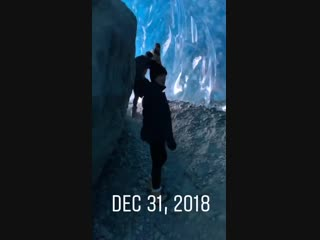 (2018-12-31) Ice Caves in Whistler, Canada - Video by Bradley Friesen - V01