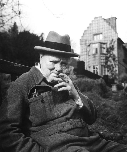Уинстон Черчилль Фото Ганса Уайлда, 1946#снимки_из_прошлого